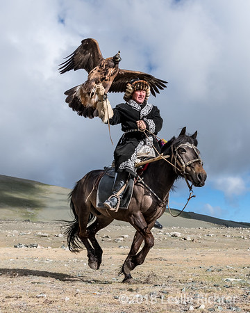 Eagle Hunters of the Altai Mountains
