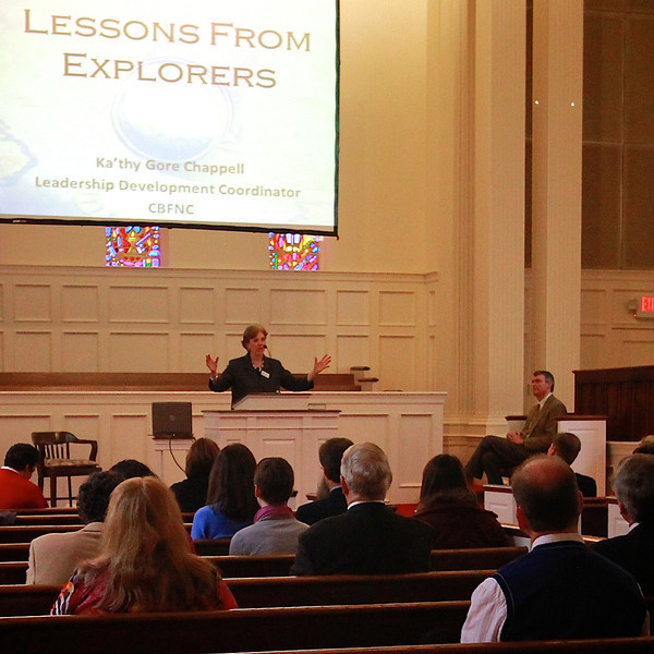 Cooperative Baptist Fellowship North Carolina chapel service.