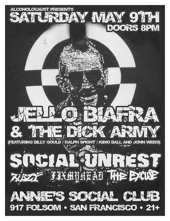 jello Biafra - social unrest - ribzy @annies social club 05/09/2009