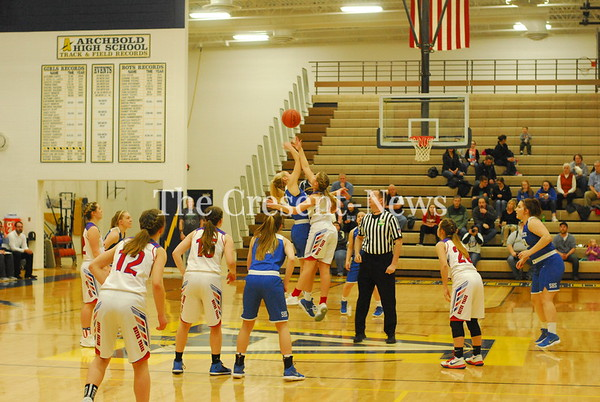 03-03-18 MV Sports Stryker vs. W. Trace District Finals @ Archbold
