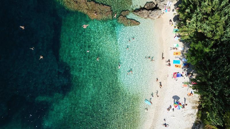 Vasiliki beach Lefkada