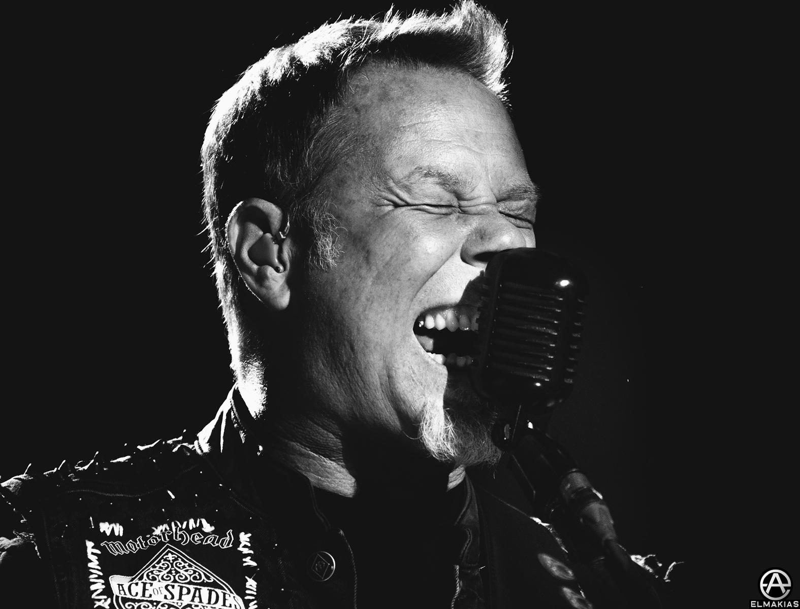 James Hetfield of Metallica at Rock in Vienna 2015