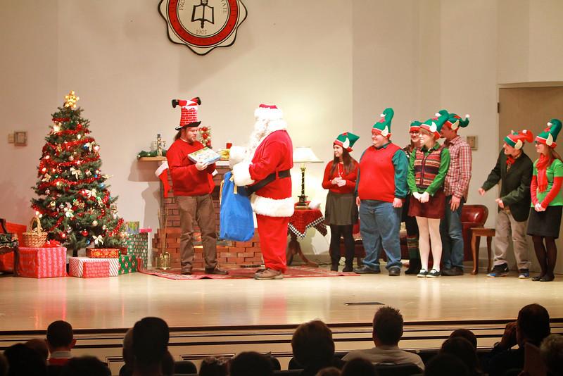 Twas the Night, a Salvation Army Benefit, was held in Blanton Auditorium on the campus of Gardner-Webb University; December 2011.