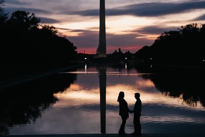 Anne Marie + Mark // Washington, D.C Engagement