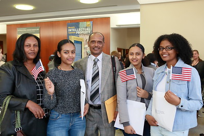 March 22: Naturalization for Young People Ceremony