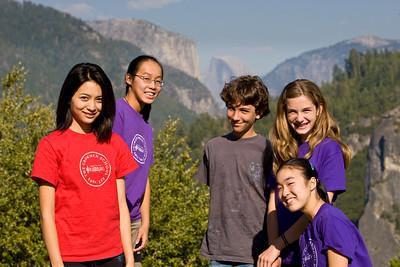 8th Grade Yosemite Village Field Trip