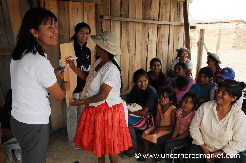 Teaching About Sanitation - Tarija, Bolivia