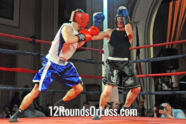 Bout 3 Roger Blankenship, Wrestling Factory, Cleveland -vs- Brian Hill, Independent, Cincinnati, 141 lbs Novice