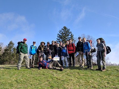 April 6-7, 2019 Horseshoe Trail and Warwick County Park Camping