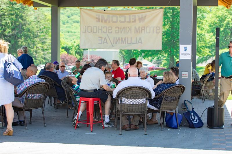 Luncheon, Ledoux Terrace