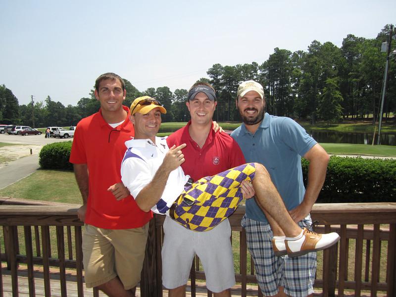 Tom Whatton, Chris Webster, Chris Bowling, Sam