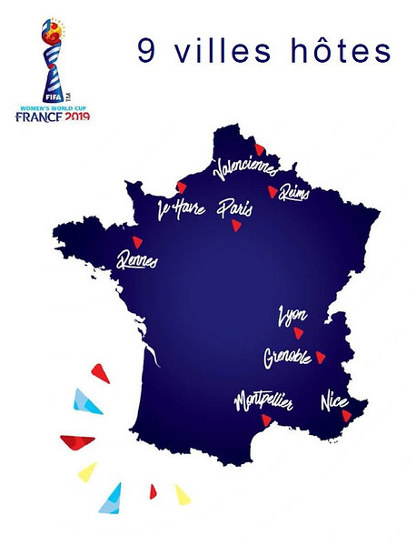 Les Villes de la Coupe du Monde Féminine (The Cities of the Women's World Cup)