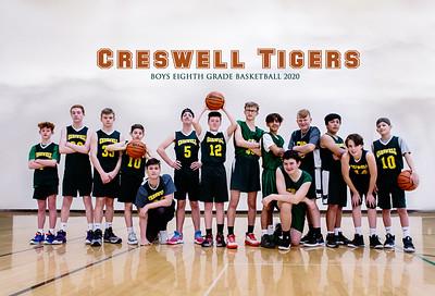 Creswell Tigers Boys 8th Grade
