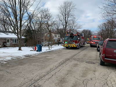 Bensenville FPD vehicle vs house 1-16-19