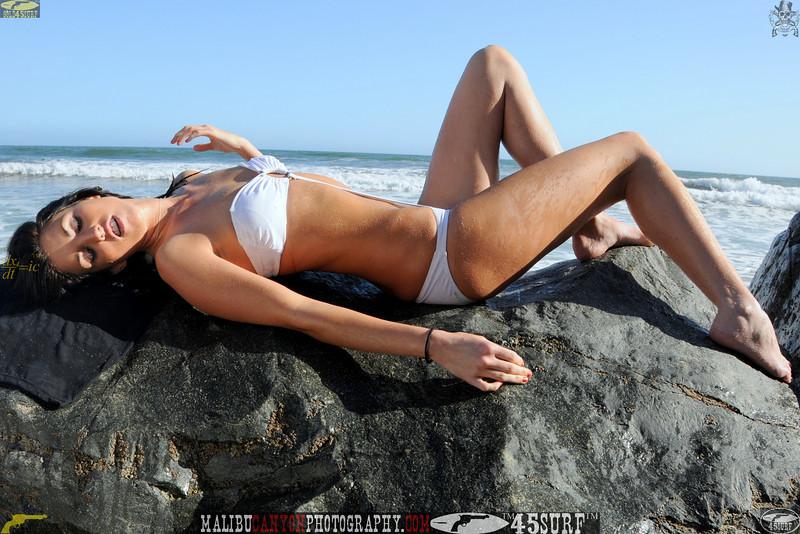 beautiful woman sunset beach swimsuit model 45surf 888,5