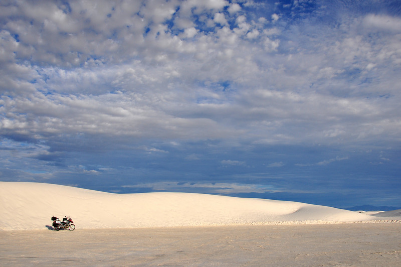 White Sands at 7am