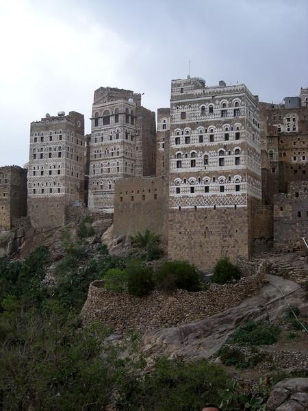 the mountain top village of al-Hajarah
