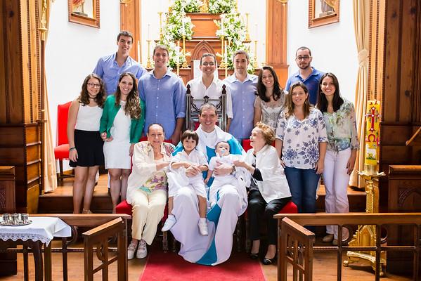 Batizado Antônio e João