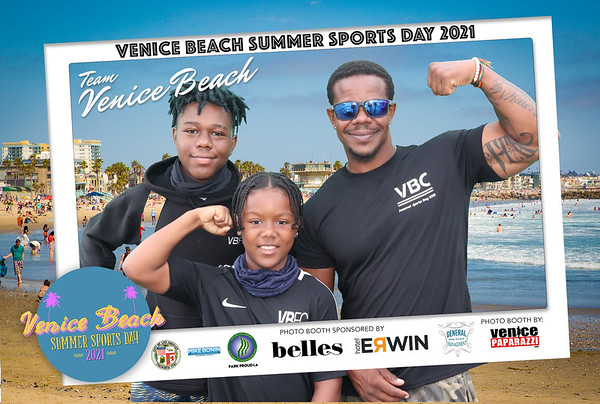 PHOTO BOOTH PICS:   Venice Beach Sports Day