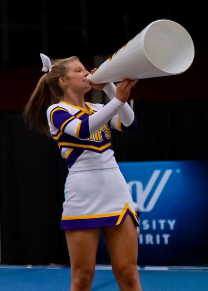 Broughton cheerleading Pre-States. November 16, 2019. D4S_1755