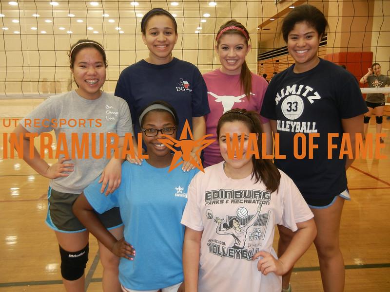 VOLLEYBALL Women's B Champion  Notorius D.I.G.s  R1: Tyesha Edge, Katie Rodriguez R2: Dinh Huynh, Braelyn Anderson, Tori Guzman,  Solimar Serrano