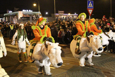 SBS6 kerstparade Hoofddorp