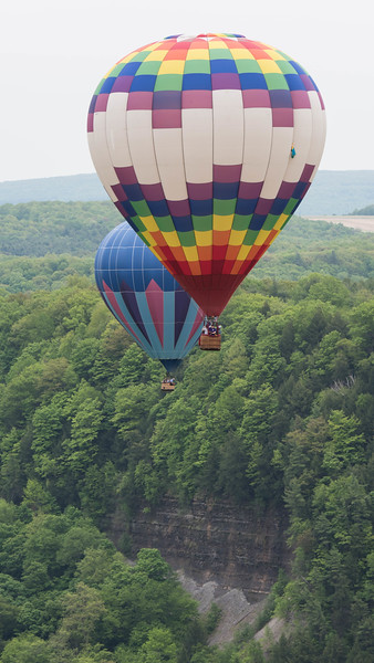 May 2015 Letchworth State Park Balloon Fest
