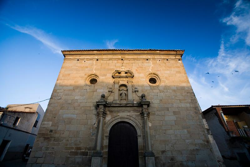 San Pedro de Alcantara church (17th century), town of Alcantara, province of Caceres, autonomous community of Extremadura, southwestern Spain