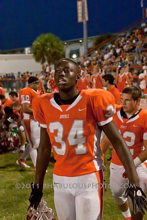 Boone Varsity Football #34 - 2011