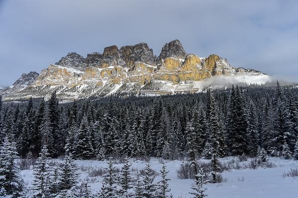 1-17-16 Winter Banff National Park