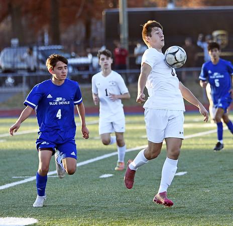 Plainville boys soccer 11-11-20