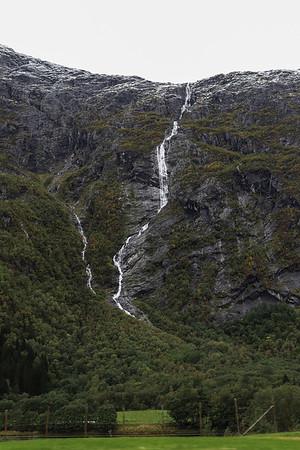 Olmaafossen Waterfall