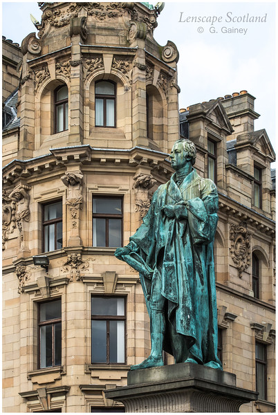 William Pitt the Younger statue at junction of George Street and Frederick Street (1)