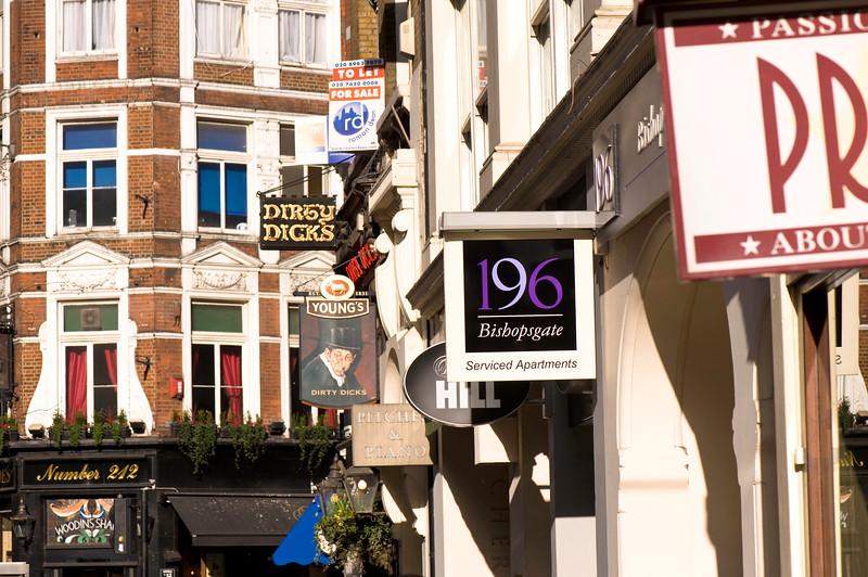 Bishopsgate, EC2, London, United Kingdom
