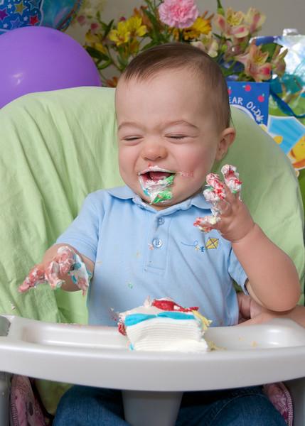 Logan's First Birthday