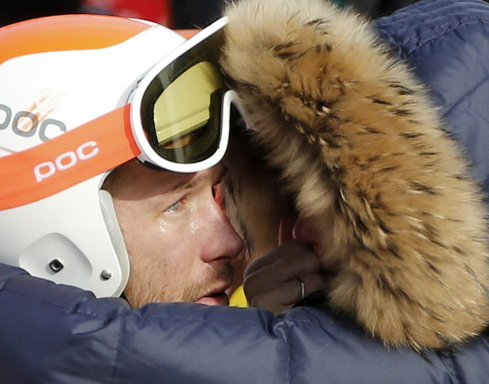 . <p><b>17. BODE MILLER </b> <p>Now going back to drinking in his dead brother�s memory. <p>  (AP Photo/Christophe Ena)