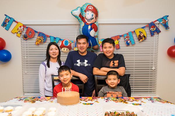 Henry's 9th Birthday