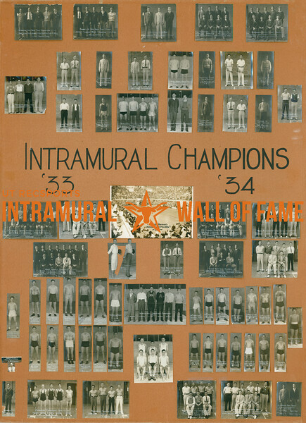 Intramural Champions 1933-34