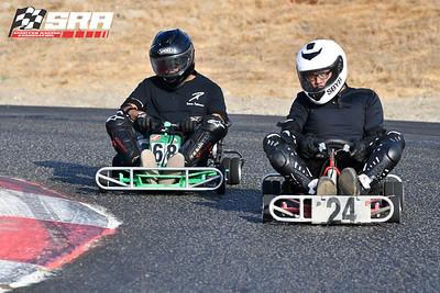 Go Quad Racer # 24 White Helmet