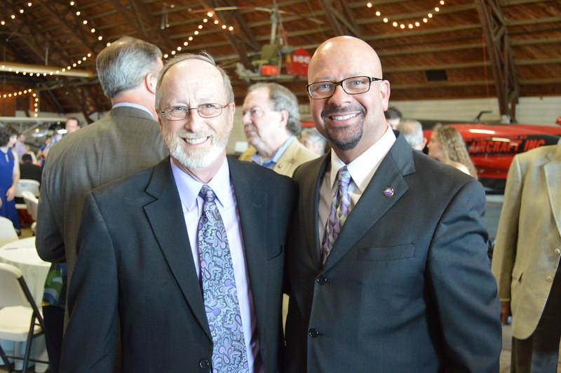 Lioneld Jordan (Mayor), Dr. Matthew Wendt (Superintendent) 1.JPG