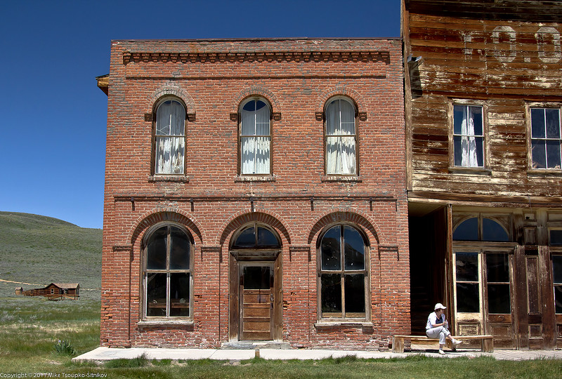 Bodie - IOOF building and Post Office