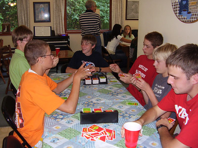 2007 Team Dinner - Boehms