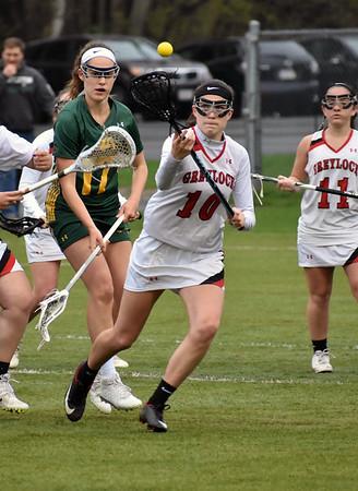 Mount Greylock girls lacrosse vs. Burr and Burton - 050419