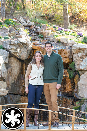 Vail Engagement Photos - Betty Ford Alpine Gardens - Sarah and Craig