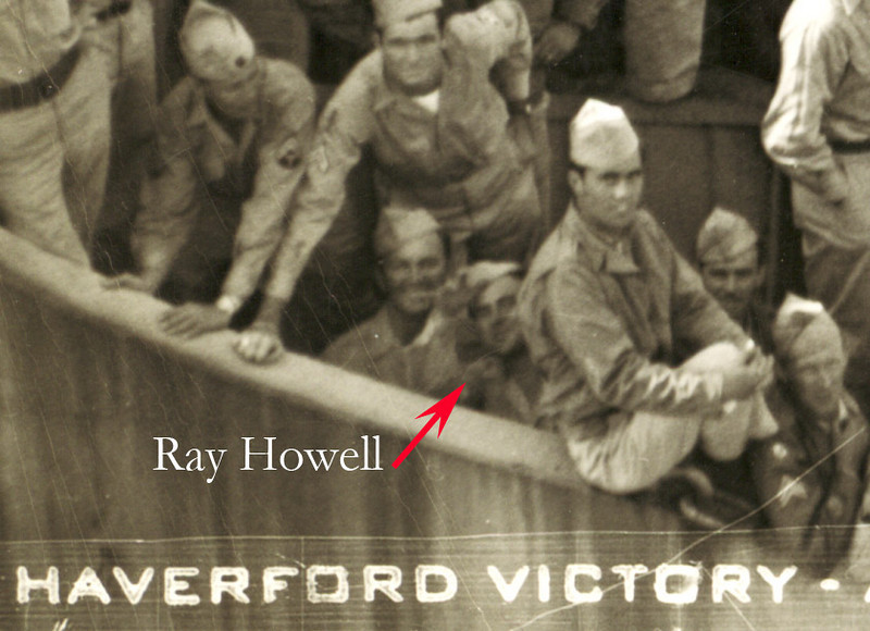 My Dad on the Haverford Victory Ship