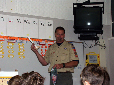 Maxwell's Cub Scout Meeting