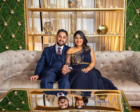 Nita and Unni Engagement Reception