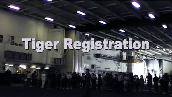 Tiger Cruise  aboard the Navy USS Nimitz