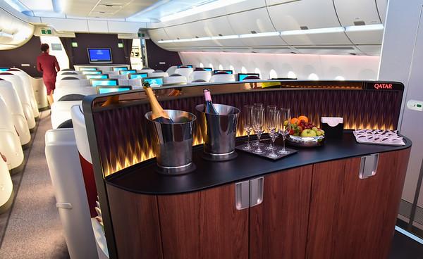 Qatar Airways Airbus INTERIOR