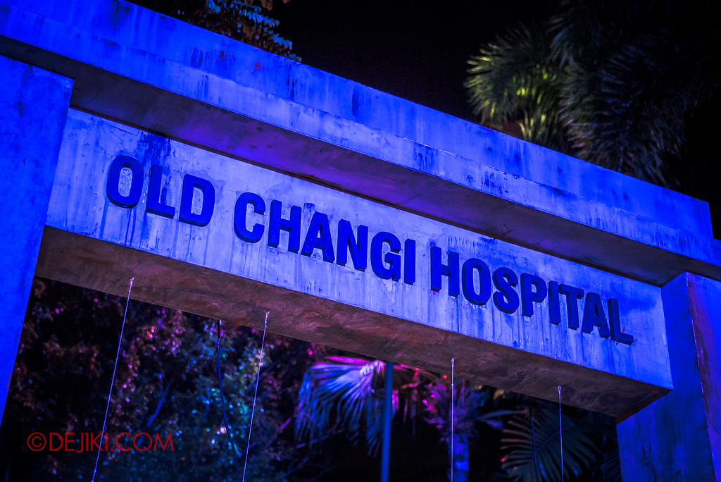 Halloween Horror Nights 6 - Old Changi Hospital / Gate closeup